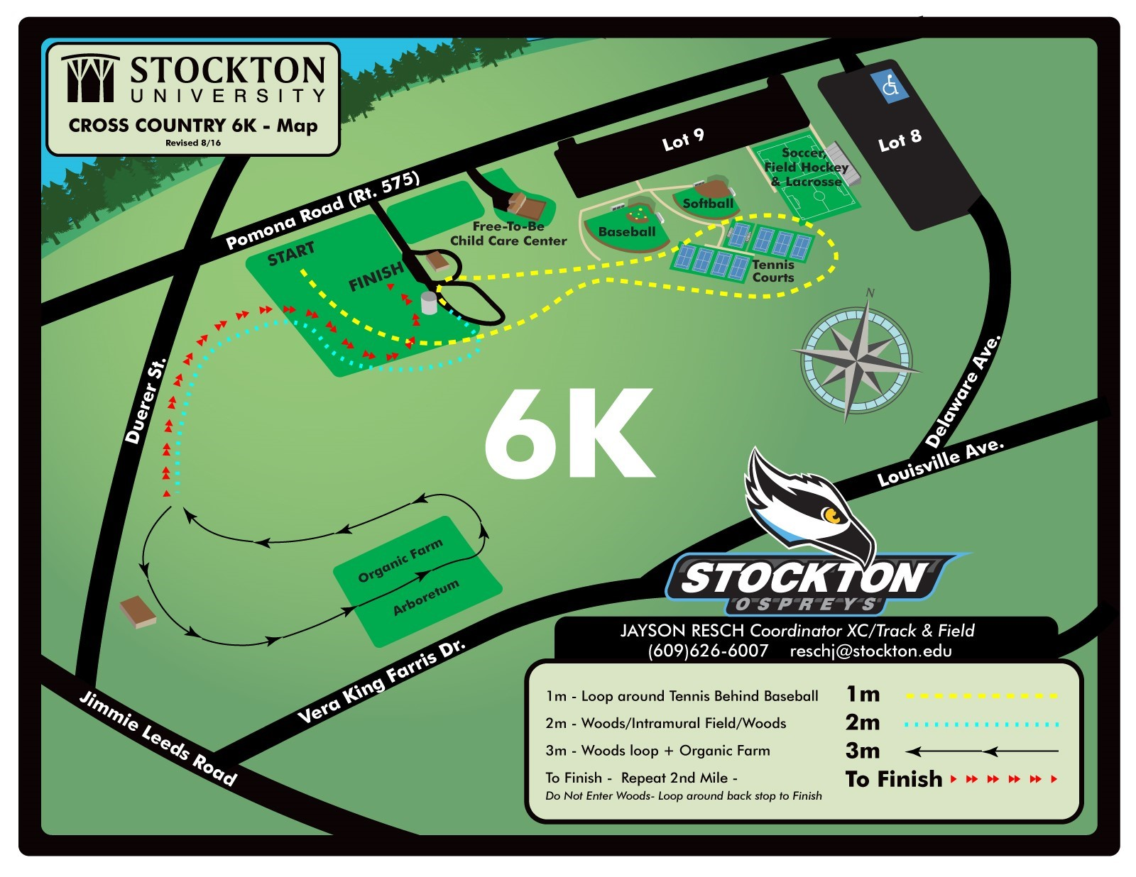 official site of the stockton university ospreys